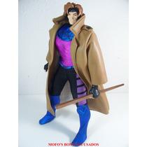 X Men Gambit Frete Free 30cm Roupa De Pano Toy Biz 1995 Raro