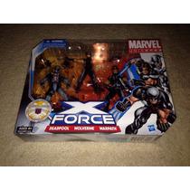 X-force Marvel Universe, Deadpool Warpath E Wolverine Lacrad