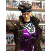 Estatua Resina Gambit Marvel Comics X-men 40cm Ótimo Preço