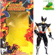 Boneco Wolverine 24,5 Cm + Acessórios Marvel Universe 1998
