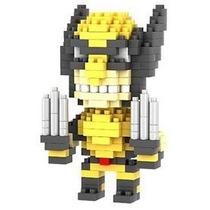 Heróis - Blocos Estilo Lego Loz - Wolverine - Frete Barato