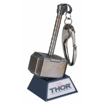 Chaveiro Martelo Thor Dark World C/ Led Iron Studios Mjolnir