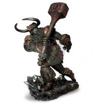 Estátuas Deuses Thor E Odin Mitologia Nórdica