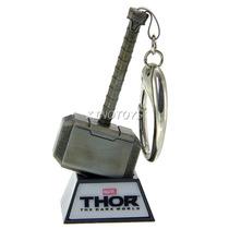 Chaveiro Martelo Thor Dark World C/ Led Iron Studios Is-5901