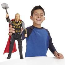 Boneco Eletrônico Thor Titan Vingadores Era Ultron - Hasbro