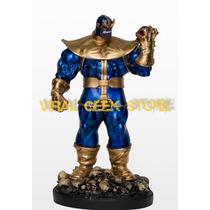 Boneco Thanos - Estátua Em Resina 37 Cm
