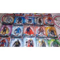 Kit Com 15 Bonecos Vingadores Marvel Avengers Age Of Ultron1