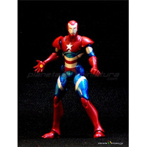Iron Man Homem De Ferro Patriot Marvel Legends Hasbro Baf