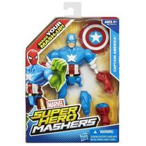 Boneco Marvel Super Hero Mashers Capitão America Hasbro
