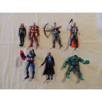 Bonecos Os Vingadores - Kit 7 Unid - The Avengers