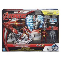 Vingadores Ataque Ao Laboratorio +iron Man + Ultron - Hasbro