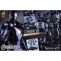 Hot Toys Iron Man Mark Vii Avengers (stealth Mode Version)