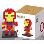 Heróis - Blocos Estilo Lego Loz - Homem De Ferro