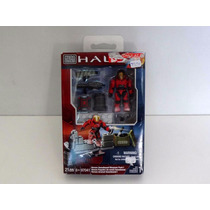Halo 21 Peças 97041 - Vermelho Unsc - Mega Blocks