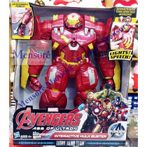 Homem De Ferro Hulkbuster Articulado Eletrônico Hasbro