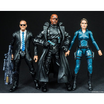 Marvel Legends: Agents Of Shield Pack (coulson, Hill, Fury)
