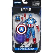 Marvel Legends Red Skull Onslaught: Capitão América - Hasbro