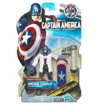 Boneco Hasbro Capitão América Winter Combat - Raríssimo!