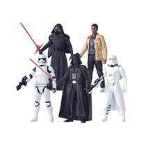 Hasbro Boneco Star Wars Episode Vii 15cm Cada Pack Com 5