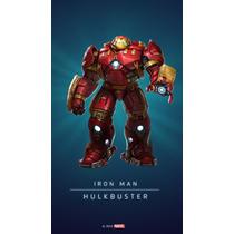 Boneco Marvel Avengers Age Of Ultron Hulkbuster