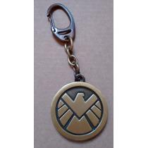 Chaveiro Marvel Avengers Vingadores Agents Of Shield Logo