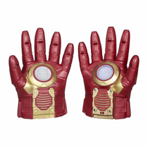 Luvas Eletrônica C/efeitos Especiais Iron Man B0429 Hasbro