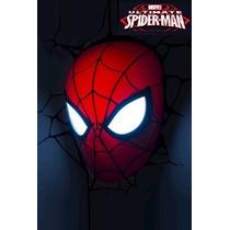 Luminária Homem Aranha Spider Man Marvel Boneco Vingadores