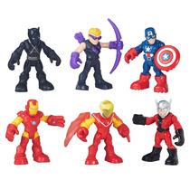Playskool Heroes C6 Marvel Capitão America, Iron Man Hasbro