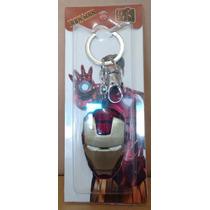 Chaveiro Marvel Avengers Vingadores Iron Man Máscara
