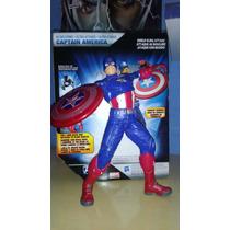 Vingadores Capitão América Eletrônico Original Hasbro