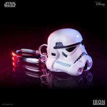 Star Wars Stormtrooper Capacete Chaveiro Iron Studios Filme