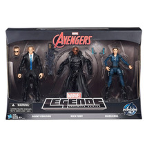 Marvel Legends 3-pack - Maria Hill, Nick Fury E Agent Carter