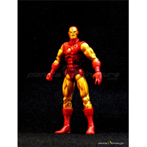 Iron Man Homem De Ferro Classic Marvel Legends Hasbro Baf