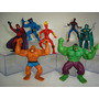 Homem Aranha Magneto Coisa Dr Doom Hulk Tocha Humana Toy Biz