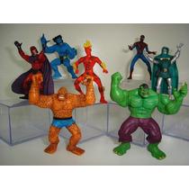 Toy Biz Homem Aranha Magneto Coisa Dr Doom Hulk Tocha Humana