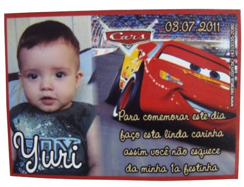 Super Kit Festa Convite Ima Chaveiro Caderno Banner + Brinde