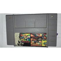 Fita Super Nintendo 5 Em 1