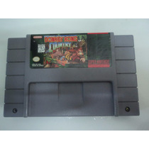 Fita Original P/ Super Nintendo Donkey Kong Country Salvando