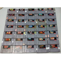 Jogos De Super Nintendo À Partir De R$50,0