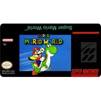Cartucho Snes Super Mario World