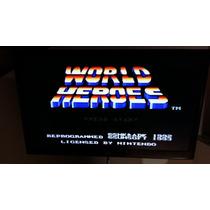 World Heroes 1 E 2 Originais E Americanas