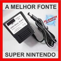 Fonte De Super Nintendo 110v-220v - Nova- Certificada Imetro