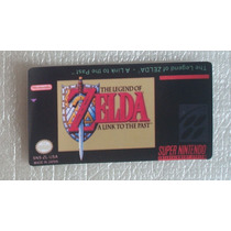 Label Legend Of Zelda Cartucho Super Nintendo Game Fita Jogo
