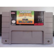 Super Mario All Stars + Mario World Original Super Nintendo