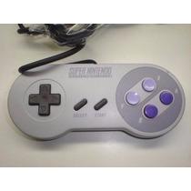 Controle Super Nintendo Zerado, Sem Amarelados.