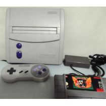 Super Nintendo Baby-completo Tudo Funcionando Ok!