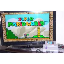 Super Nintendo Baby + Super Mario Original + 2 Controles!!!!