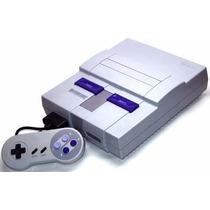 Super Nintendos Impecáveis Com Garantia + Mario World