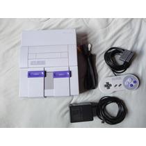 Super Nintendo 1 Controle + 1 Fita Super Mario Word