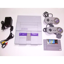 Super Nintendo Snes + 2 Controles + Super Mario World